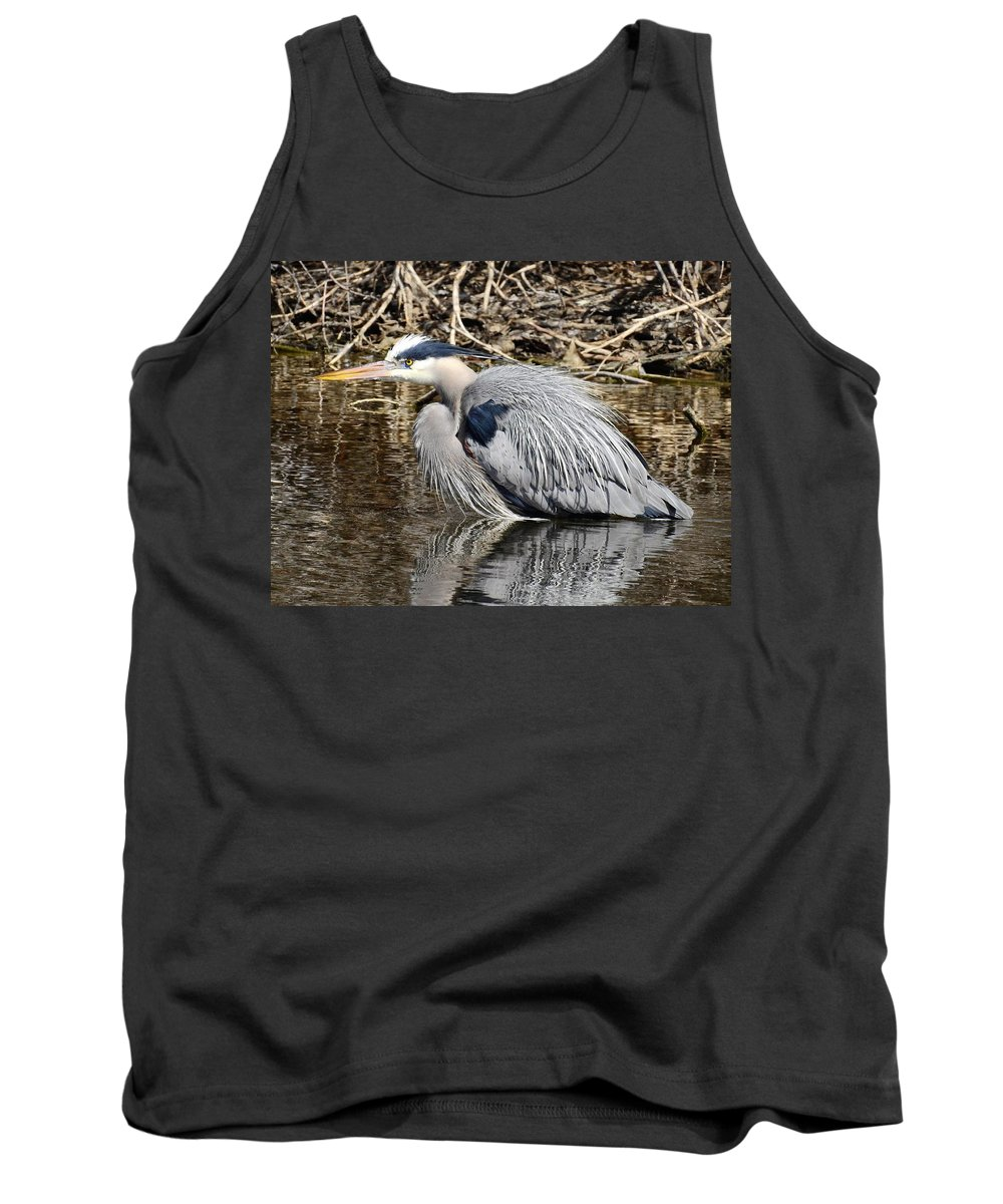 Determined Tank Top featuring the photograph Determination by Nicole Belvill