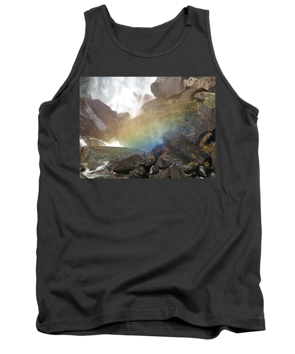 Devil's Fork Tank Top featuring the photograph Devil's Rainbow by Kelly Mezzapelle