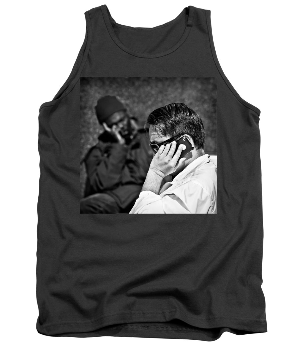 People Tank Top featuring the photograph Different Lives by Dave Bowman