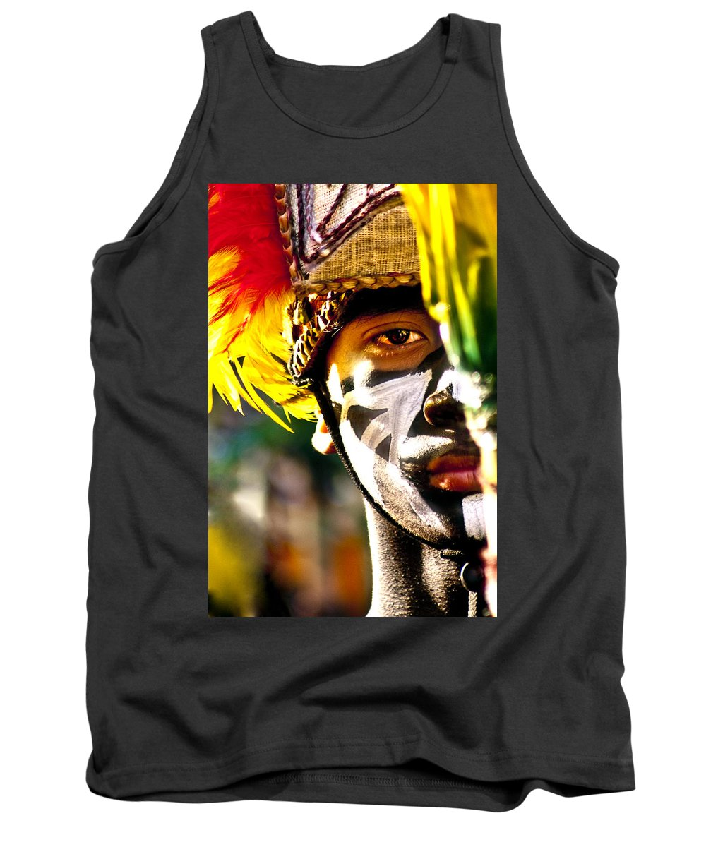 People Tank Top featuring the photograph Dinagyan1 by George Cabig