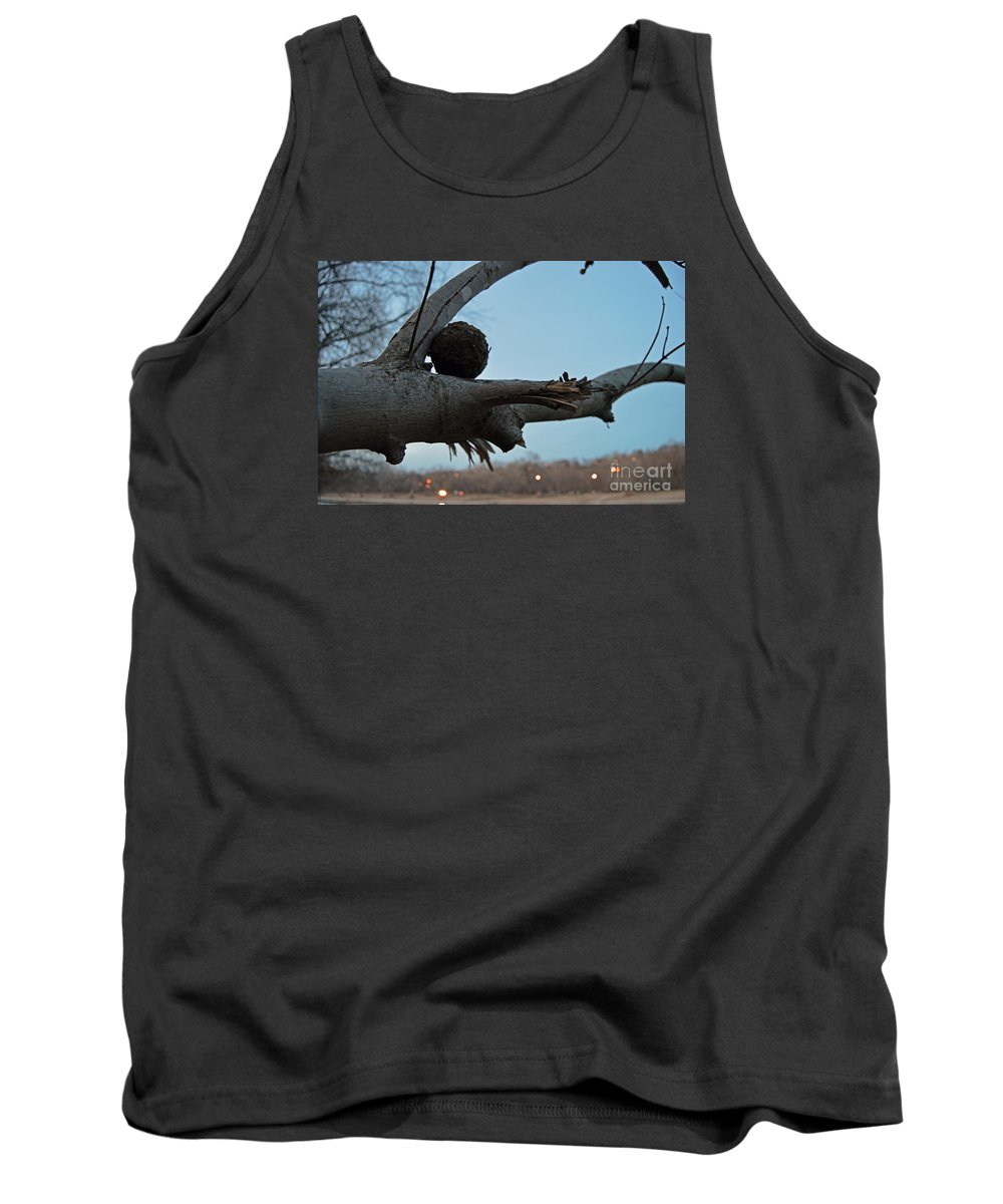 Park Tank Top featuring the photograph Dirtball by Maxwell Silver