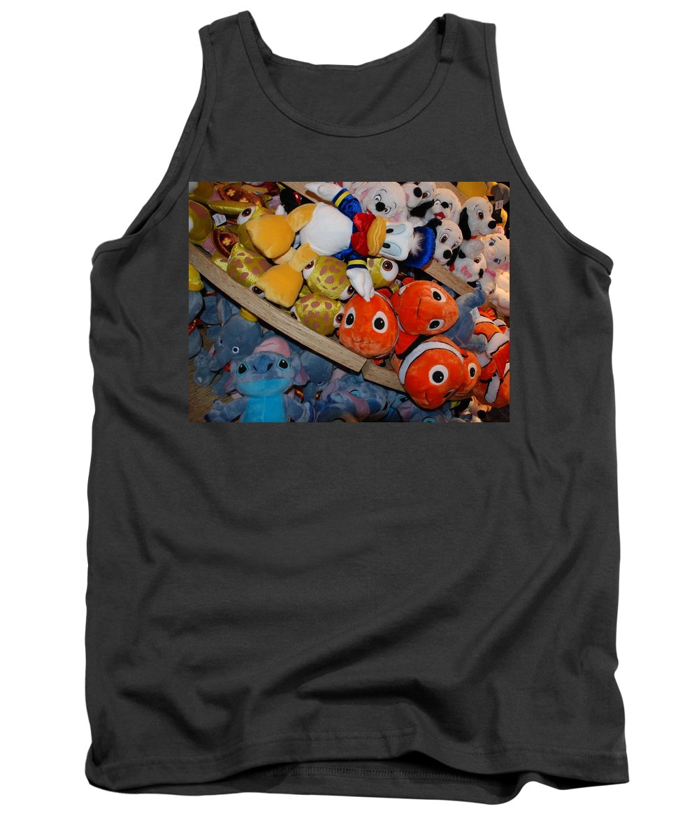 Colors Tank Top featuring the photograph Disney Animals by Rob Hans