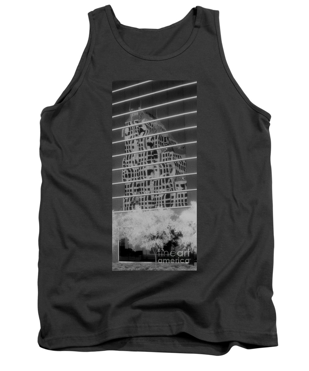 Distorted Tank Top featuring the photograph Distorted Views by Richard Rizzo