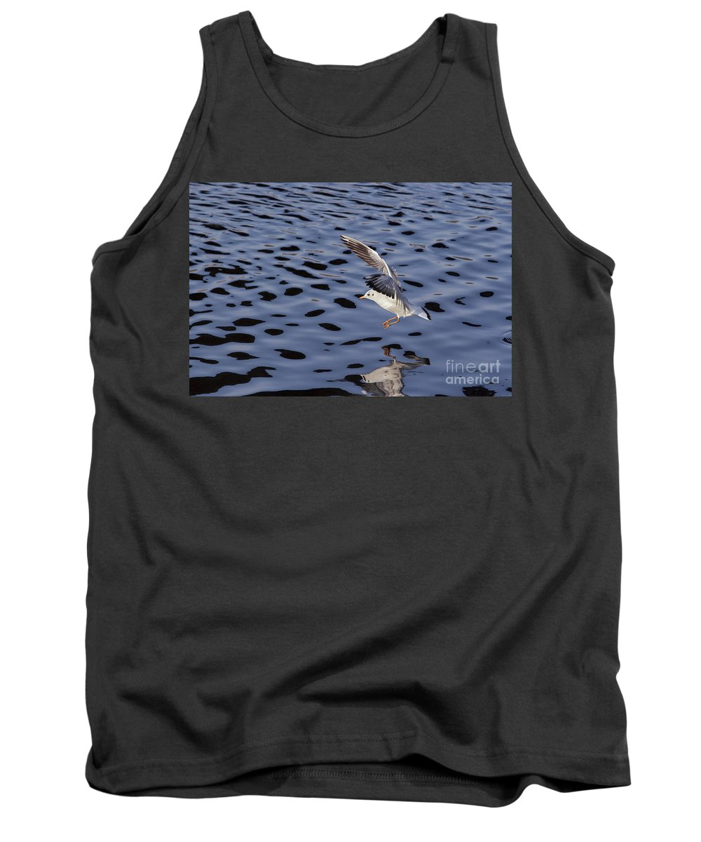 Snapshot Tank Top featuring the photograph Ditching by Michal Boubin