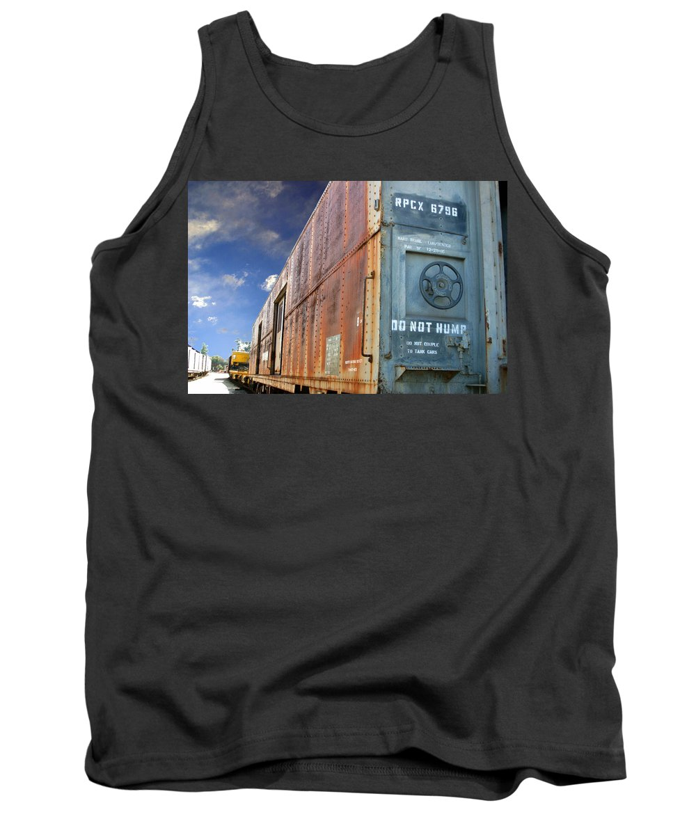 Do Not Hump Tank Top featuring the photograph Do Not Hump by Anthony Jones