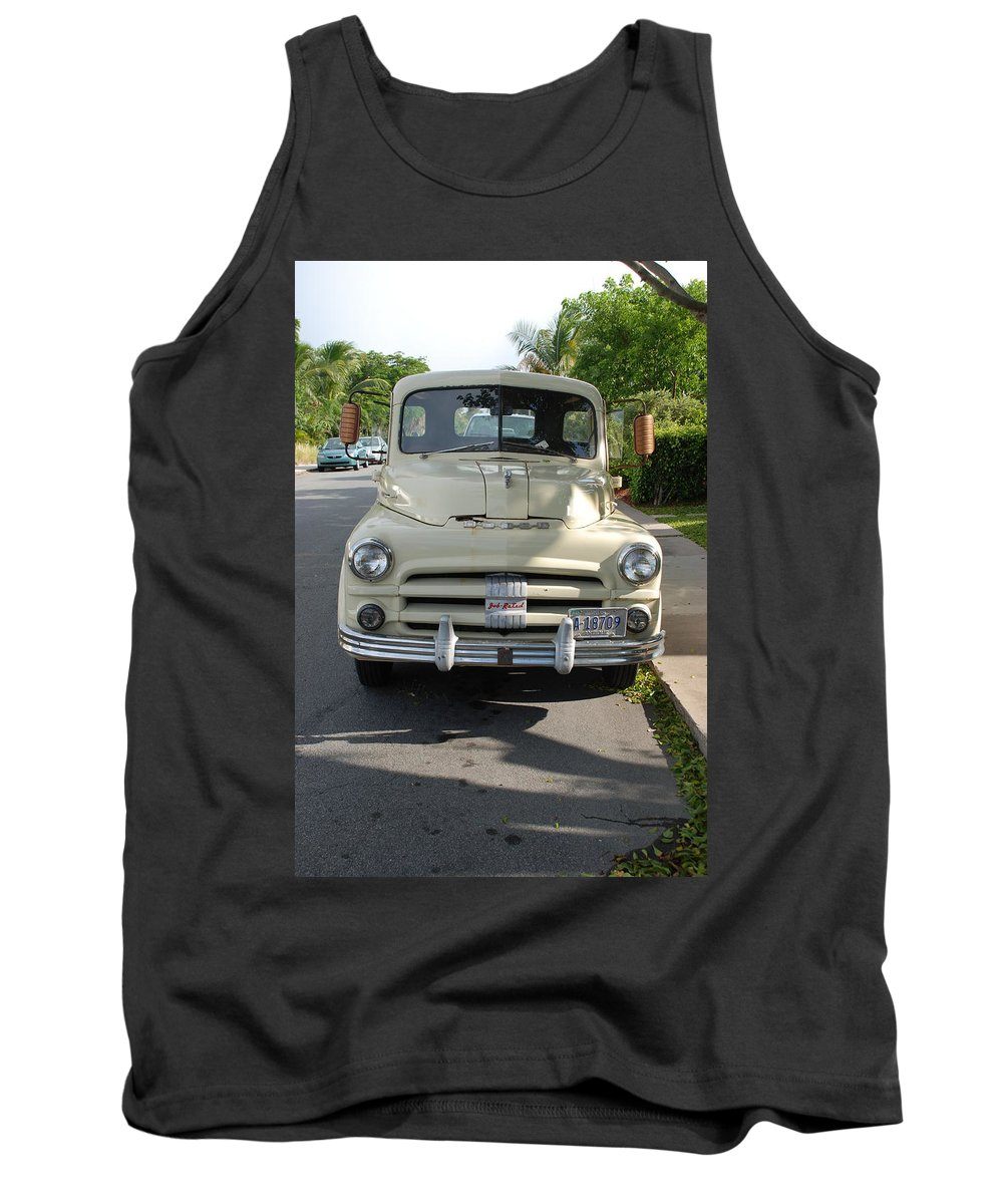 Truck Tank Top featuring the photograph Dodge by Rob Hans