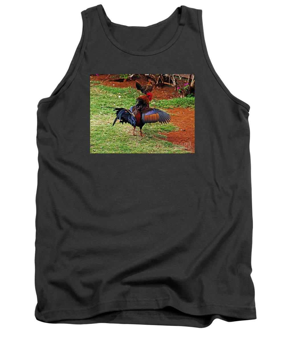 Fine Art Photography Tank Top featuring the photograph Don't Mess With My Woman by Patricia Griffin Brett