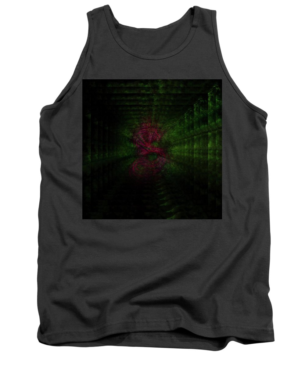 Dragon Tank Top featuring the photograph Dragon by Dawn Van Doorn