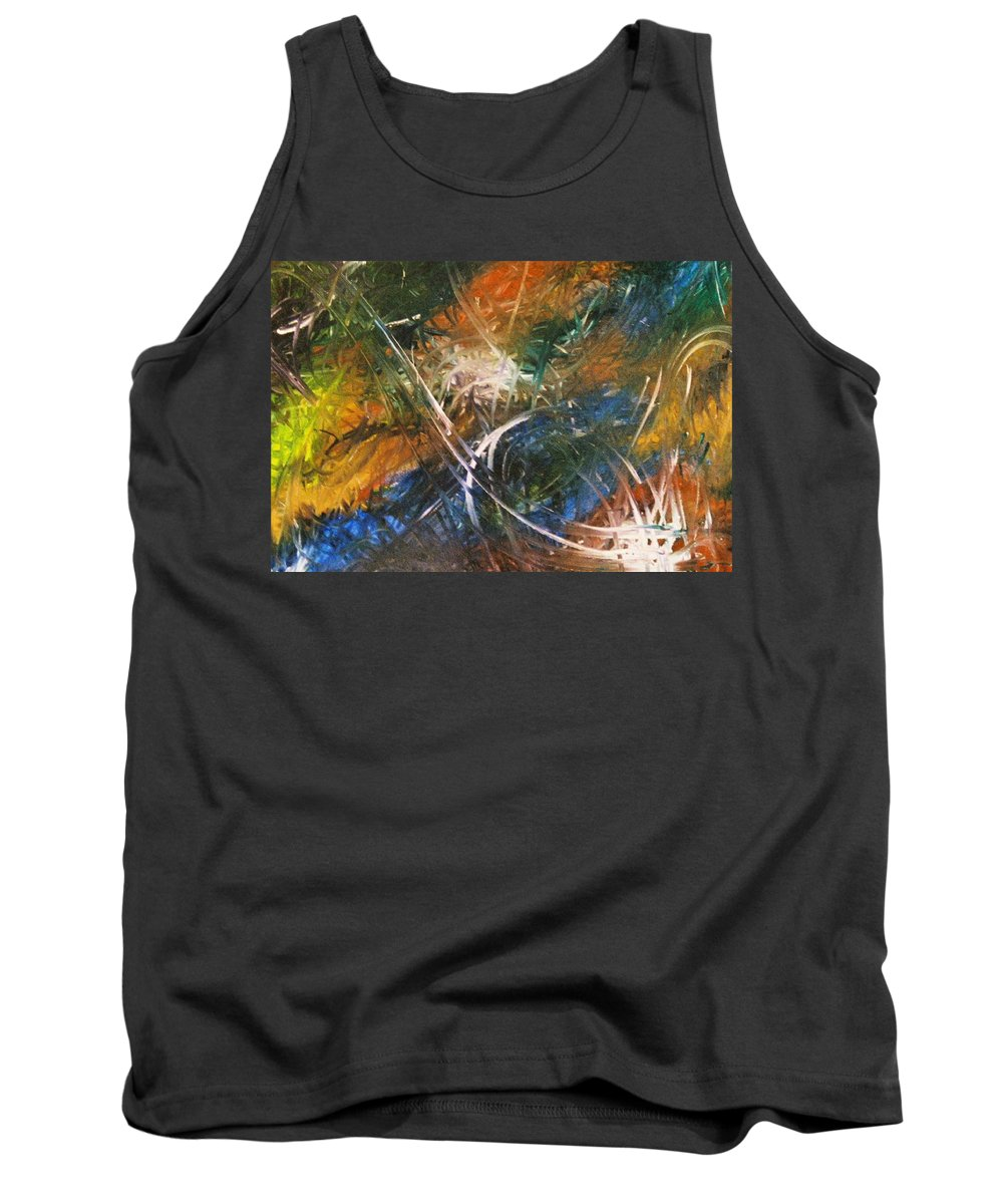 Dragon Tank Top featuring the painting Dragon by Kim Rahal