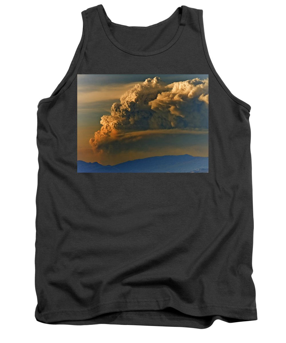 Clouds Tank Top featuring the photograph Dramatic Clouds by Naman Imagery