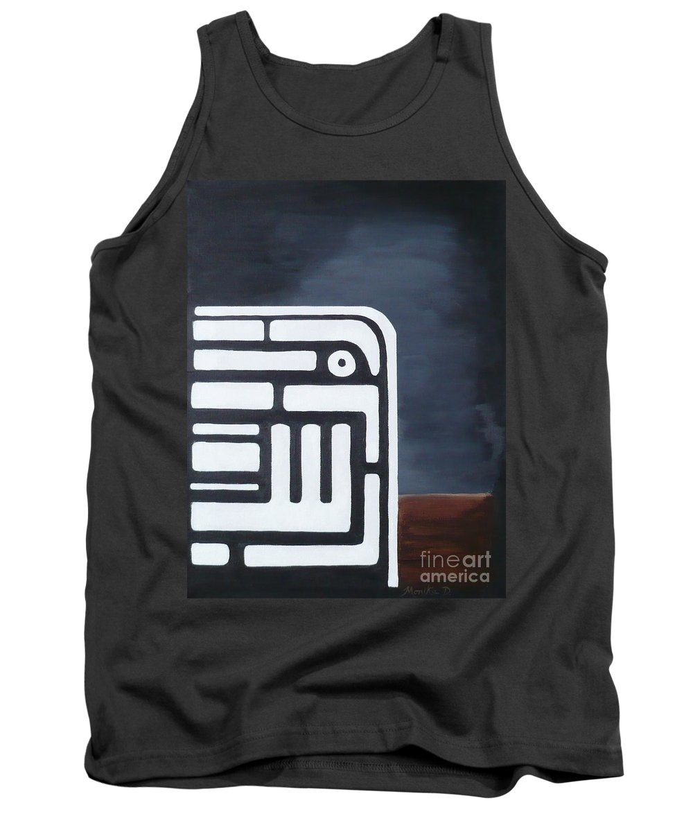 Dream Tank Top featuring the painting Dream by Monika Shepherdson