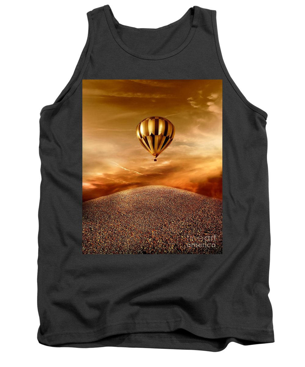 Golden Tank Top featuring the photograph Dream by Jacky Gerritsen