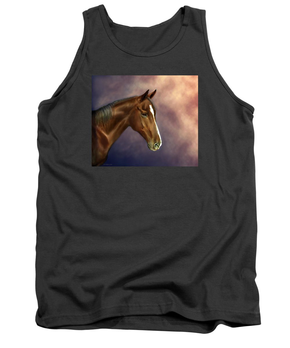 Bhymer Tank Top featuring the painting Dreamer by Barbara Hymer