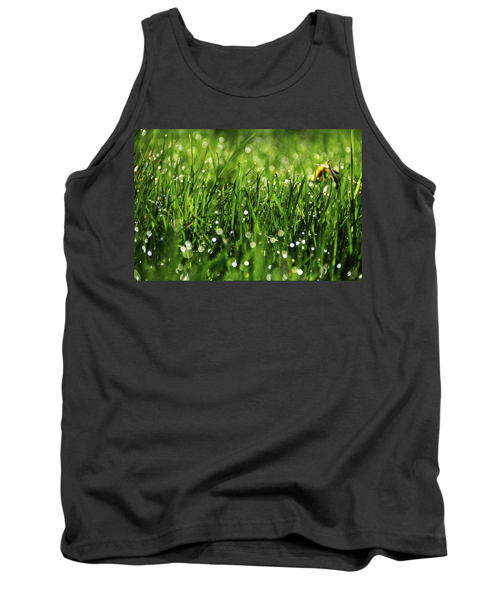 Drops Tank Top featuring the photograph Drops by Andrei Marius