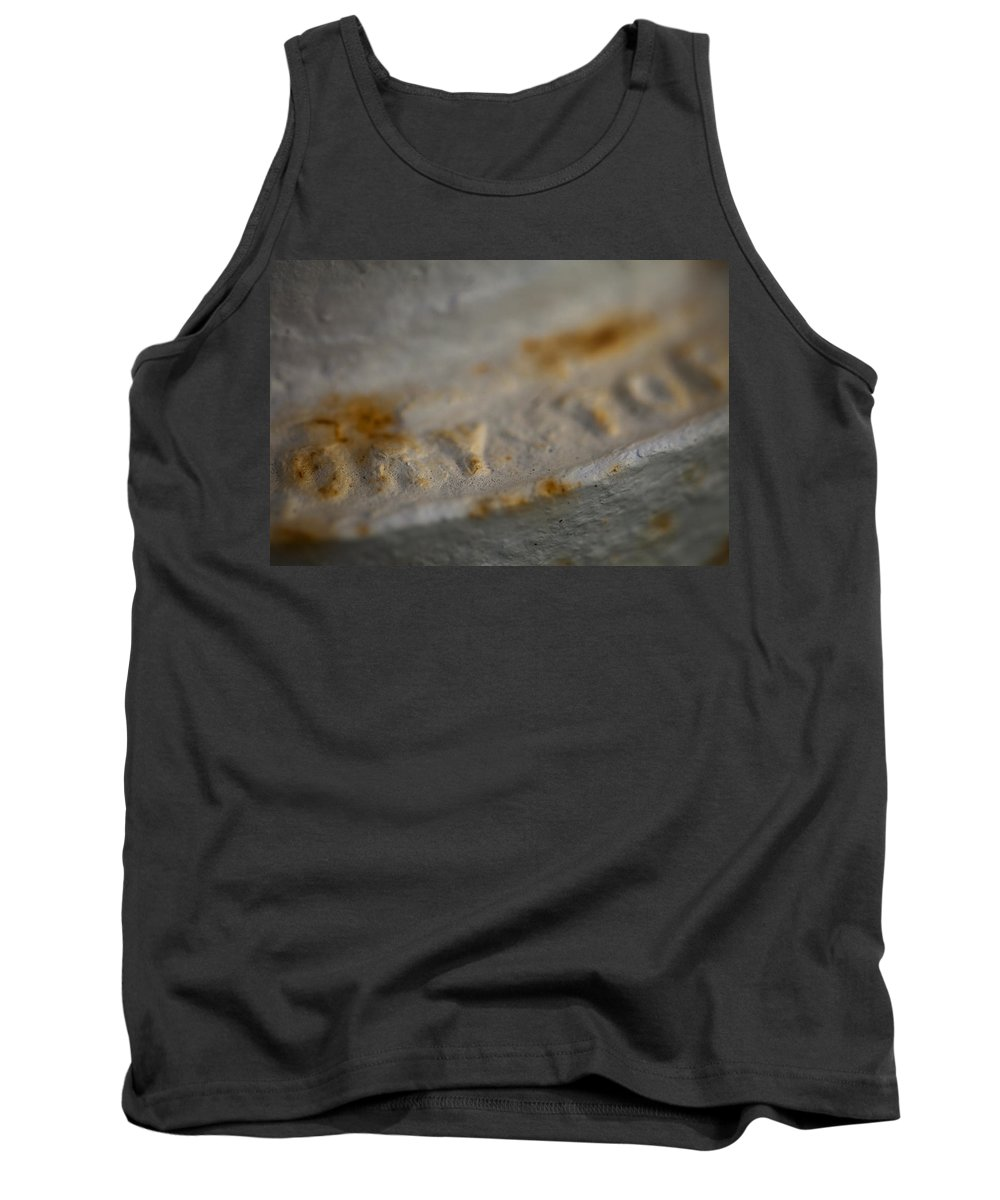 Hydrant Tank Top featuring the photograph Dry by Walter Murdock