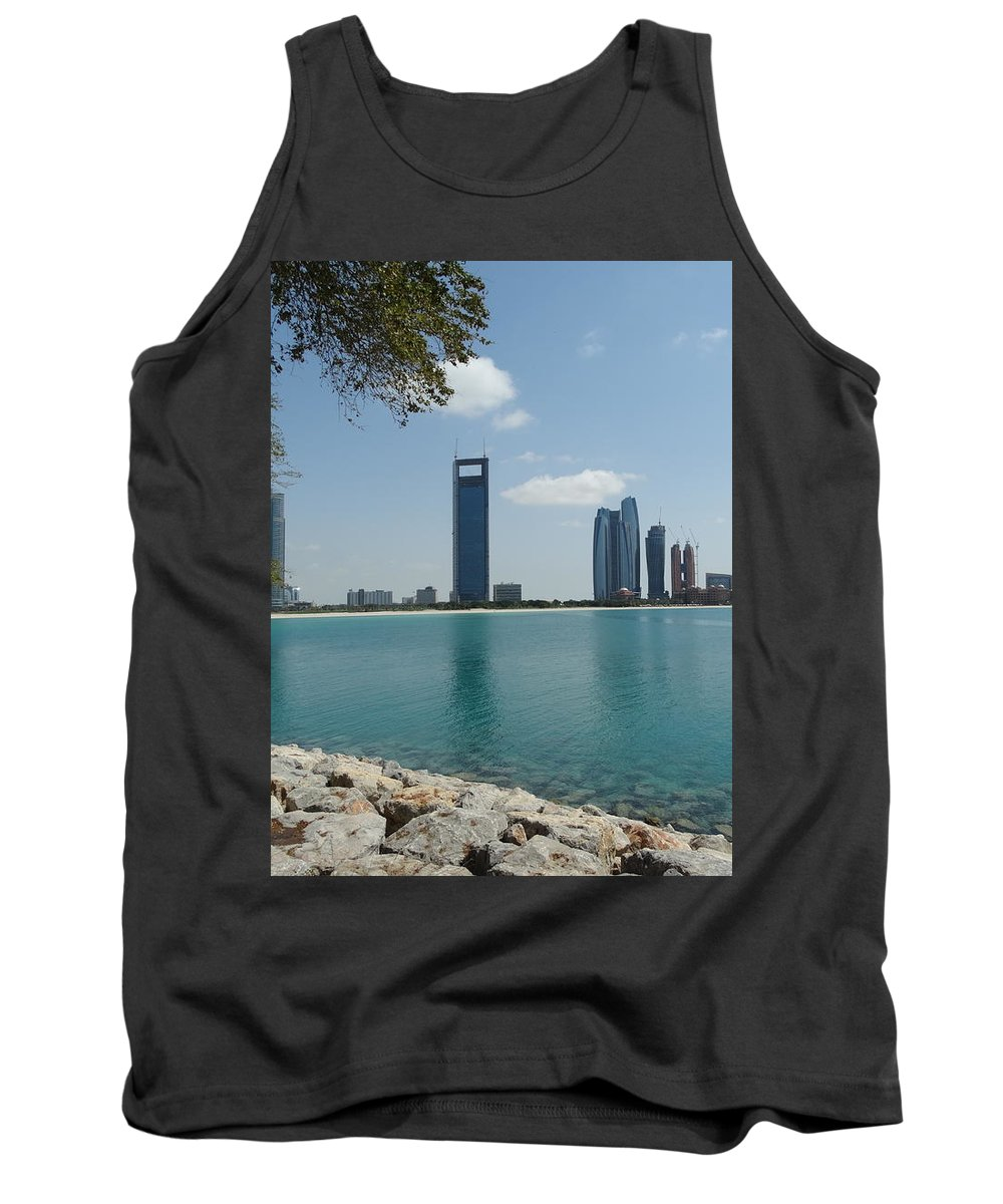 Dubai Tank Top featuring the photograph Dubai by Anton Kostadinov