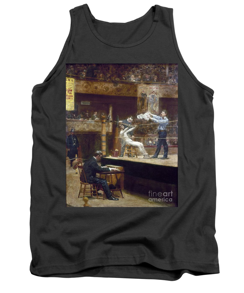 1899 Tank Top featuring the photograph Eakins: Between Rounds by Granger