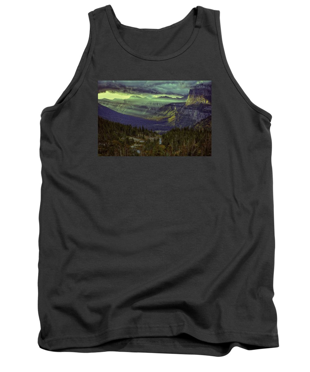 Wyoming Tank Top featuring the photograph Early In The Morning by Michael J Samuels
