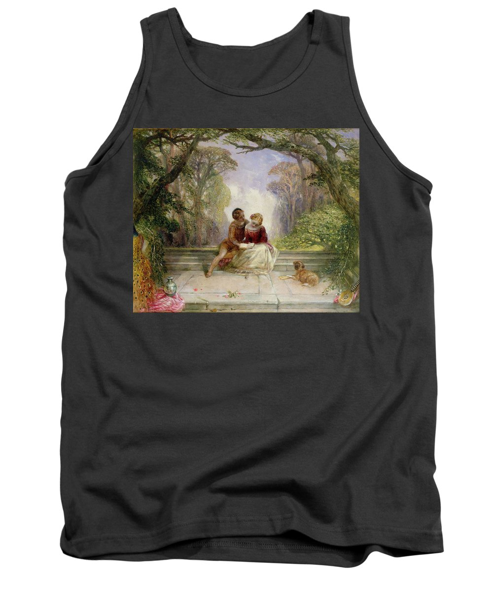 Early Summer By Alfred Woolmer (1805-92) Tank Top featuring the painting Early Summer by Alfred Woolmer