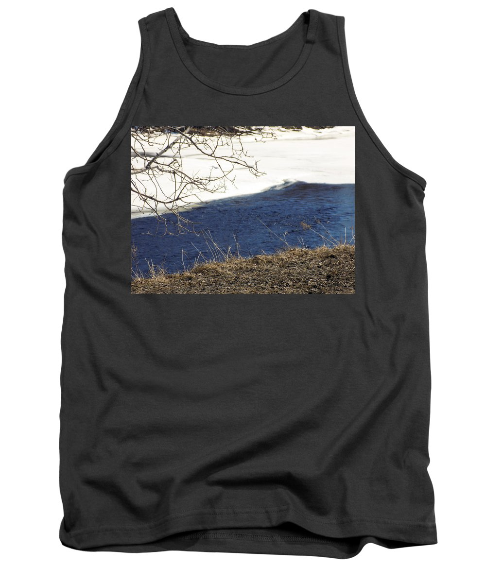 Earth Tank Top featuring the photograph Earth Water And Ice by William Tasker