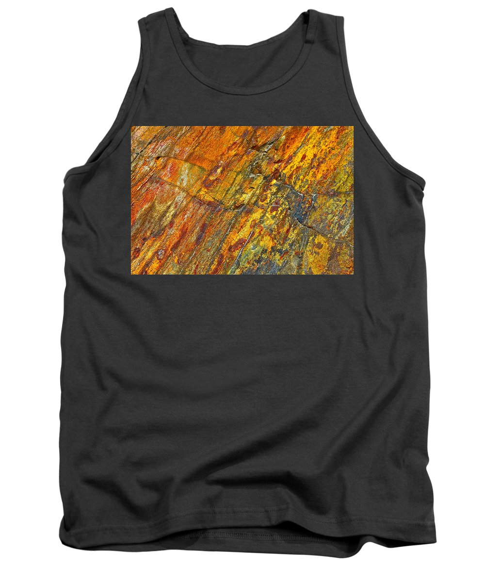 Earth Tank Top featuring the photograph Earths Palette by Karon Melillo DeVega