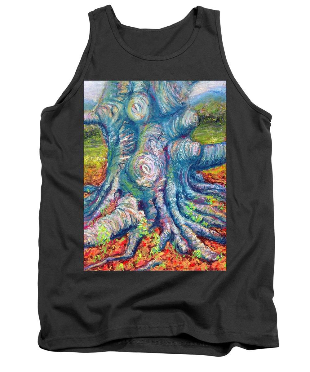 Eastern Beech Tree Tank Top featuring the painting Eastern Beech Tree by Laurie Paci