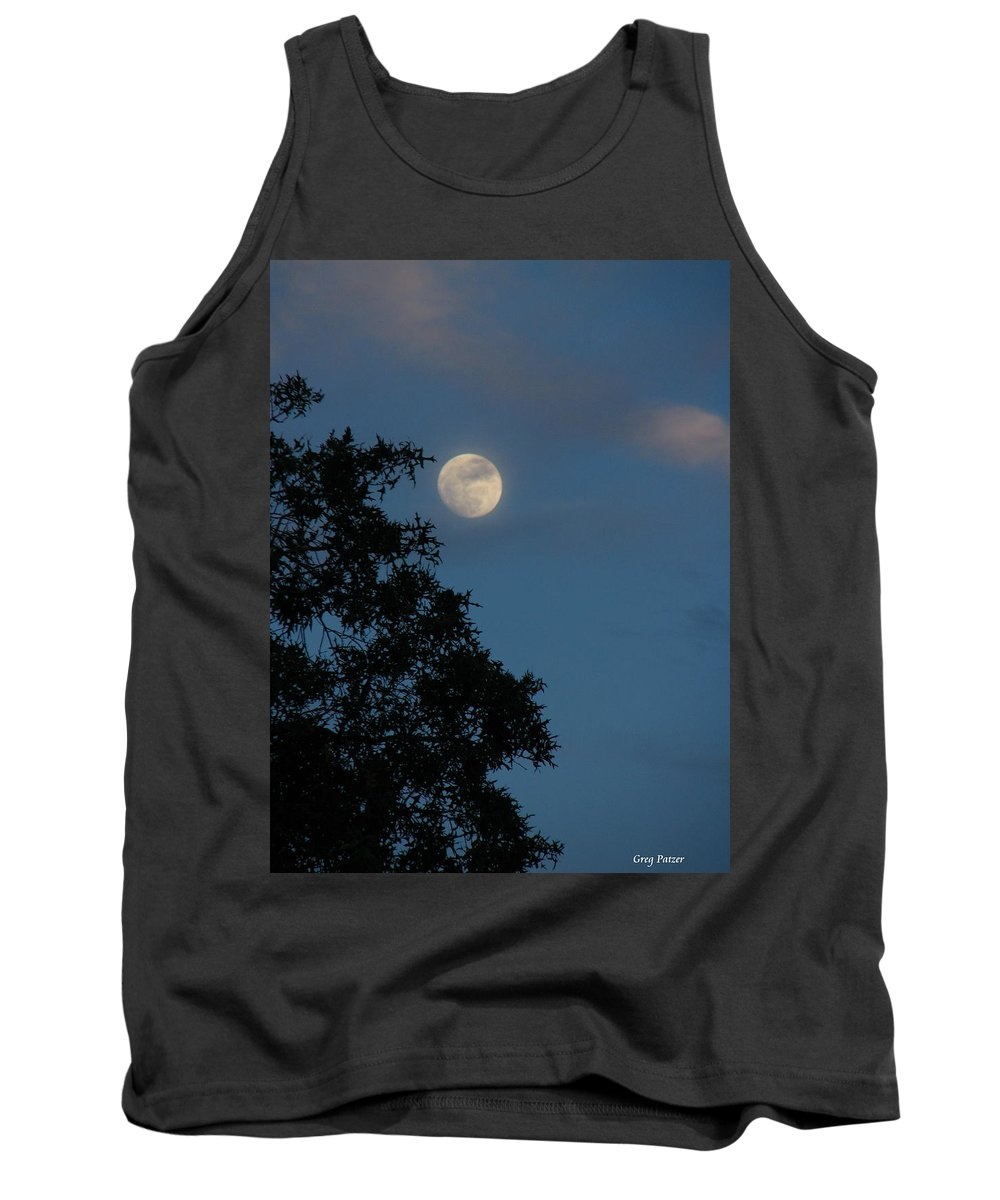 Patzer Tank Top featuring the photograph Eight Thirty Two Pm by Greg Patzer