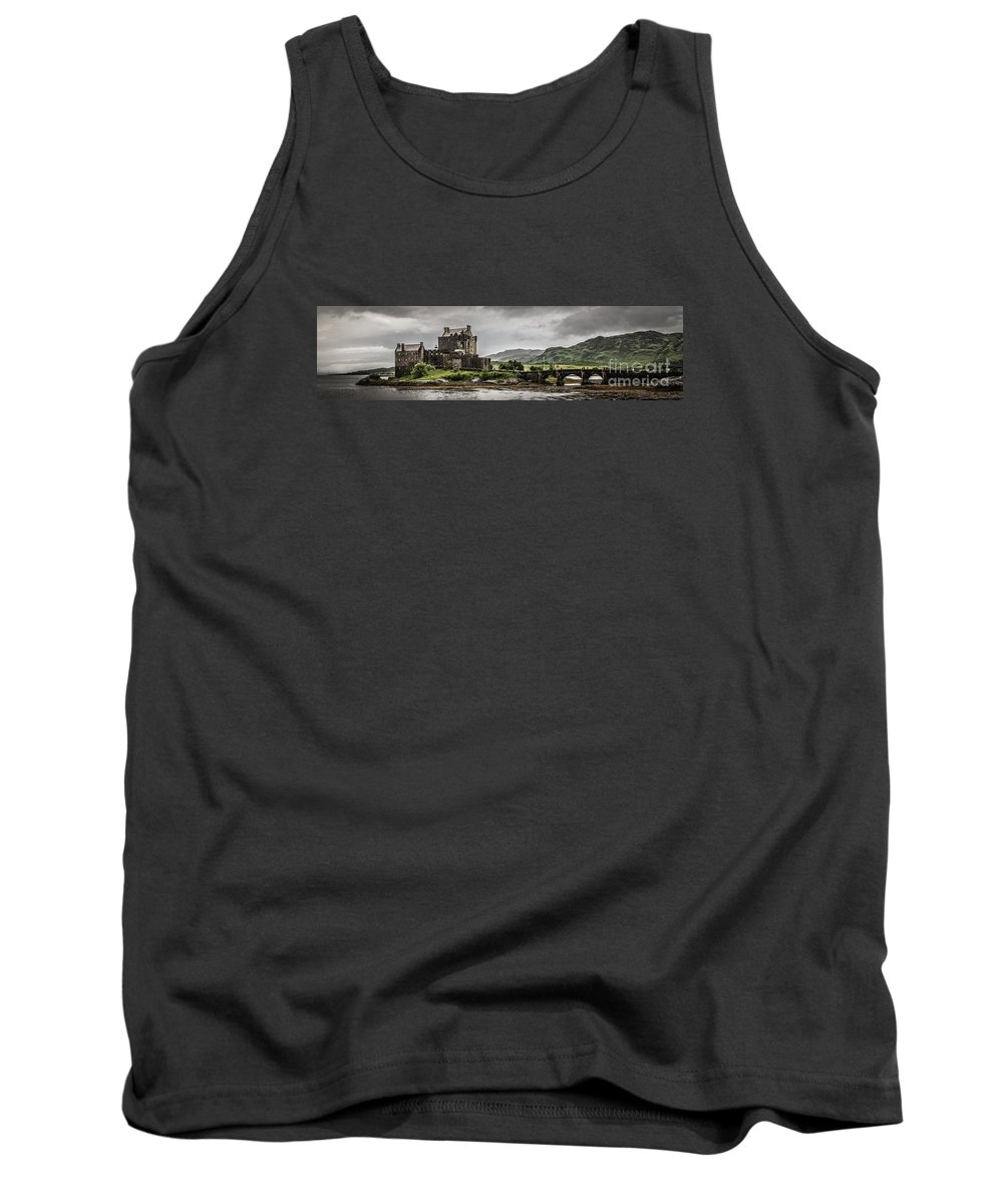 Castle Tank Top featuring the photograph A Bonnie Wee Castle by Howard Ferrier