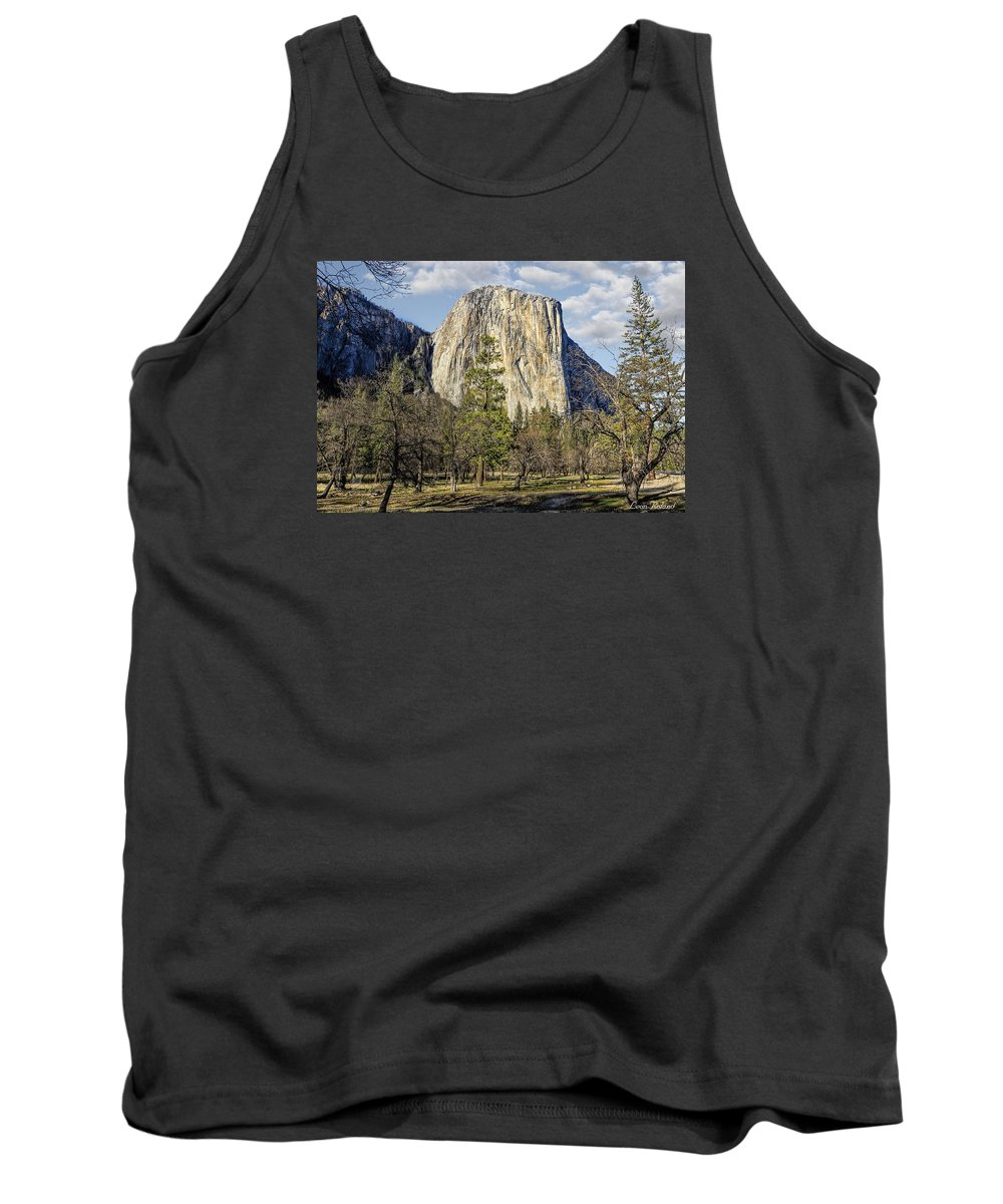 California Tank Top featuring the photograph El Capitan by Leon Roland