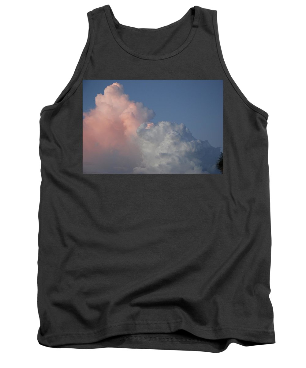 Clouds Tank Top featuring the photograph Elephant Cloud by Rob Hans