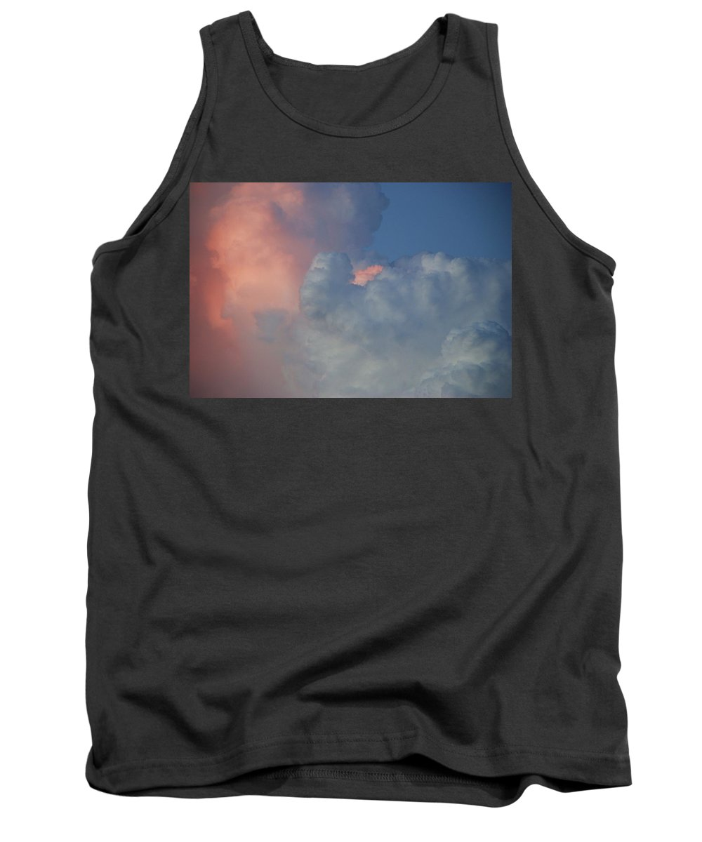 Clouds Tank Top featuring the photograph Elephant In The Sky by Rob Hans