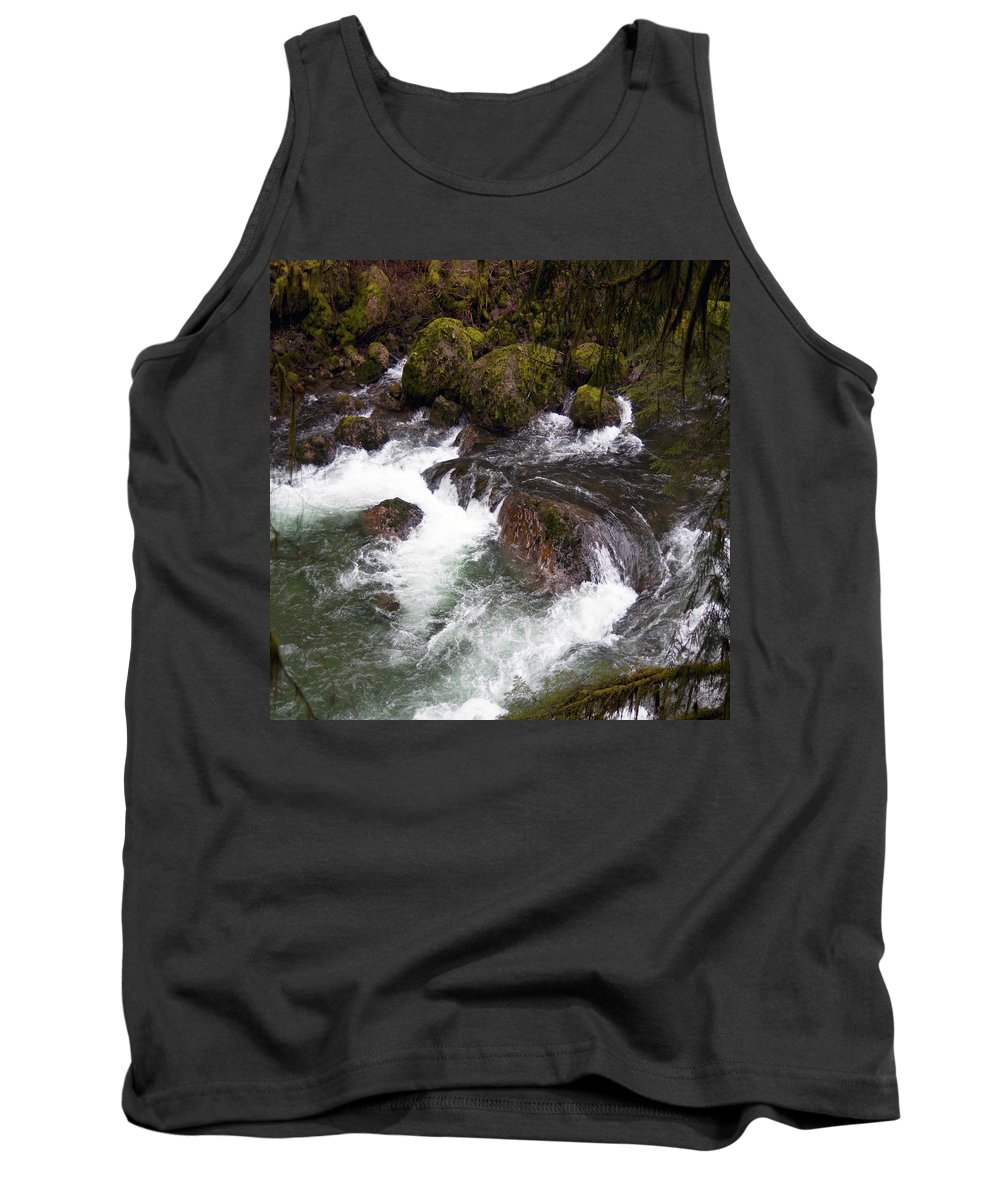 Clearwater Falls Tank Top featuring the photograph Elkhorn Creek 2 by Ingrid Smith-Johnsen