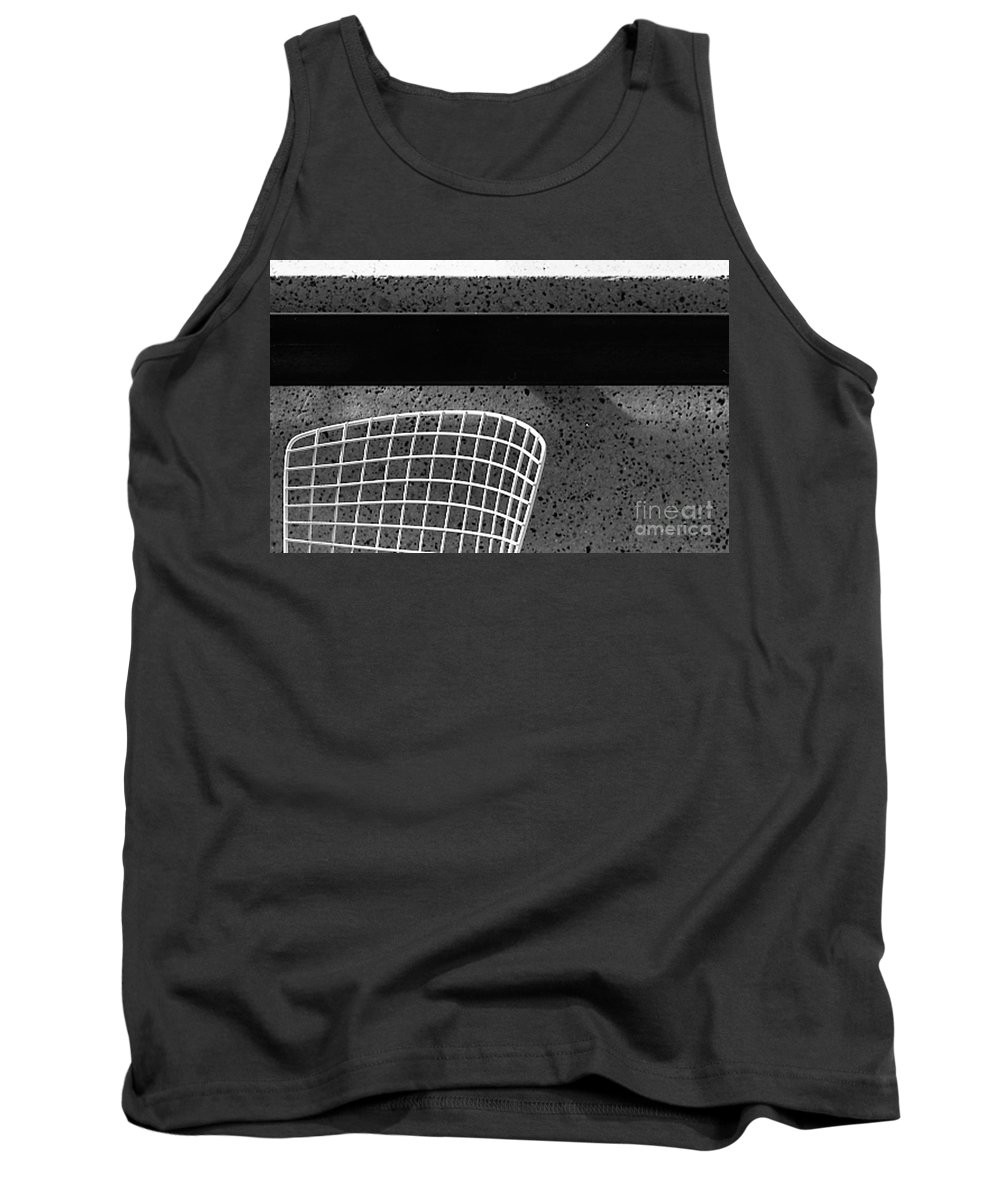 Cityscapes Tank Top featuring the photograph Embarcadero Chair by Norman Andrus