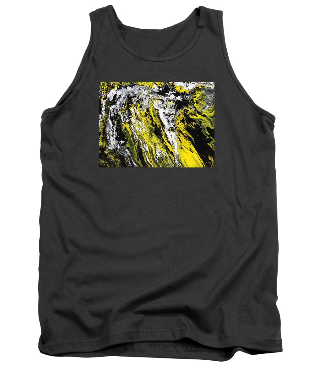 Abstract Tank Top featuring the painting Emphasis by Ralph White
