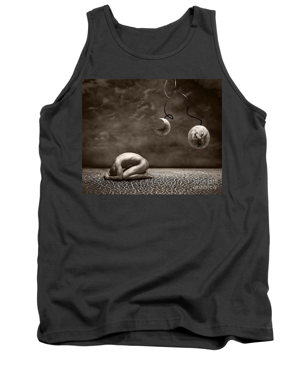 Surreal Tank Top featuring the photograph Emptiness by Jacky Gerritsen