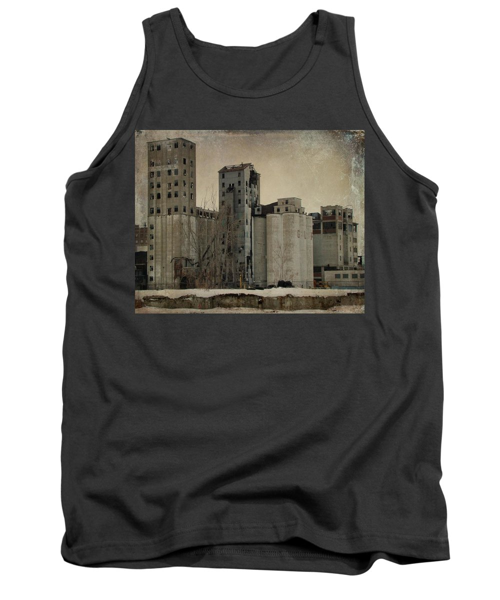 Empty Building Tank Top featuring the photograph Empty Windows by Gothicrow Images