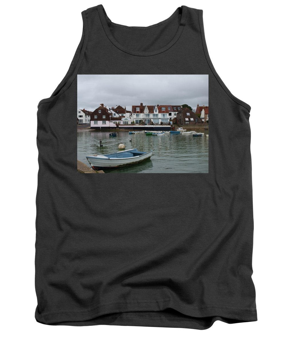 Emsworth Harbour Tank Top featuring the photograph Emsworth Harbour 1 by Josie Gilbert