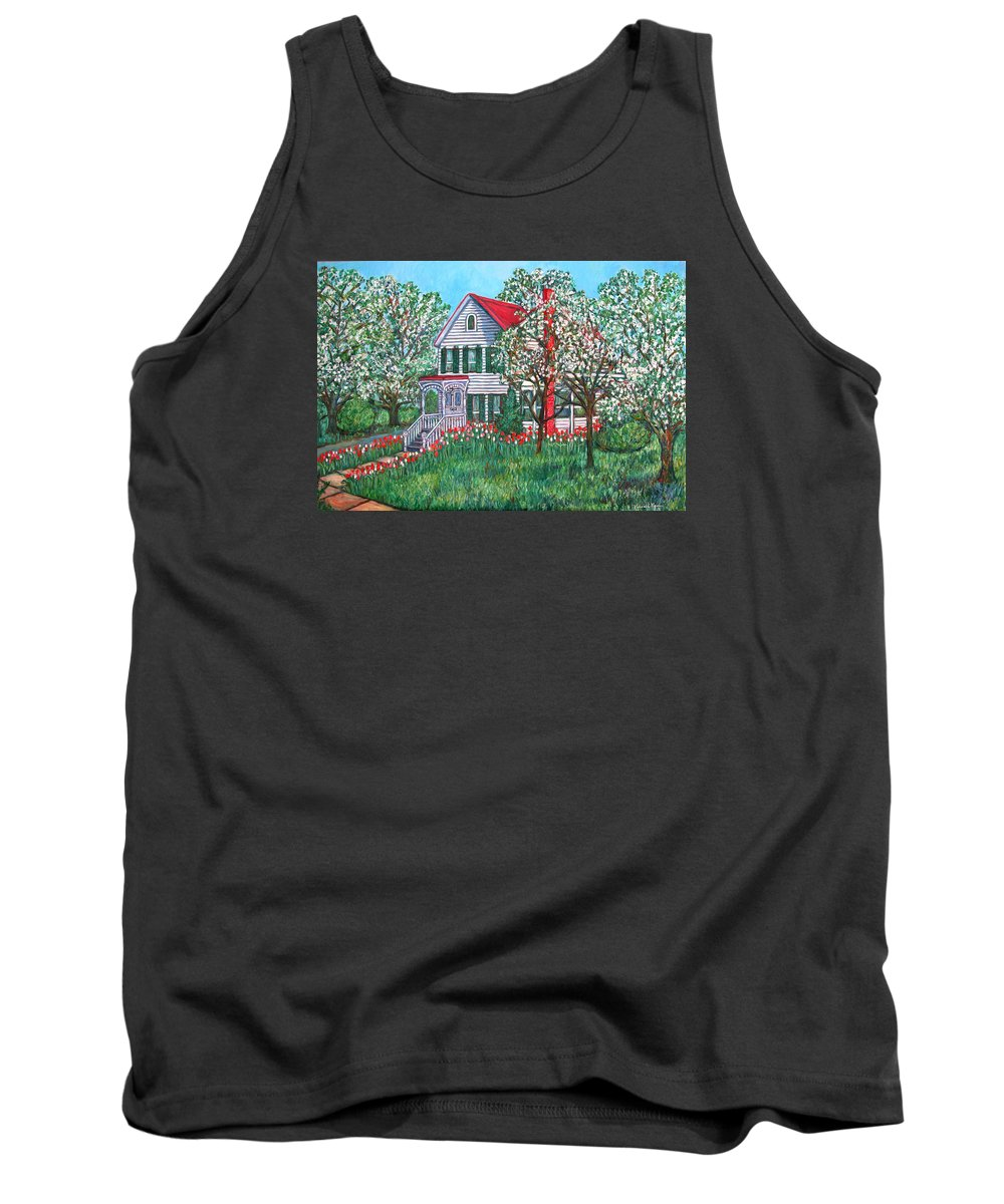 Home Tank Top featuring the painting Esther's Home by Kendall Kessler