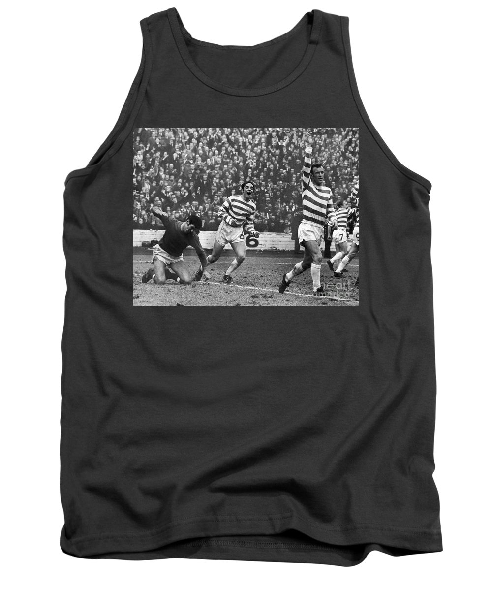 1970 Tank Top featuring the photograph European Cup, 1970 by Granger