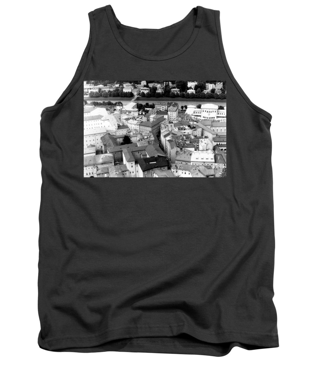 Rofftops Tank Top featuring the photograph European Rooftops by Michelle Calkins