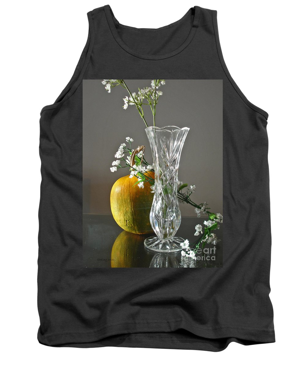 Still Life Tank Top featuring the photograph Everlasting Harvest by Shelley Jones