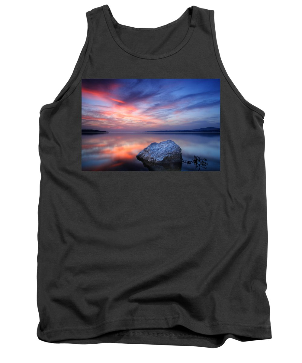 Stone Tank Top featuring the photograph Every Stone Has A Place by Evgeni Dinev