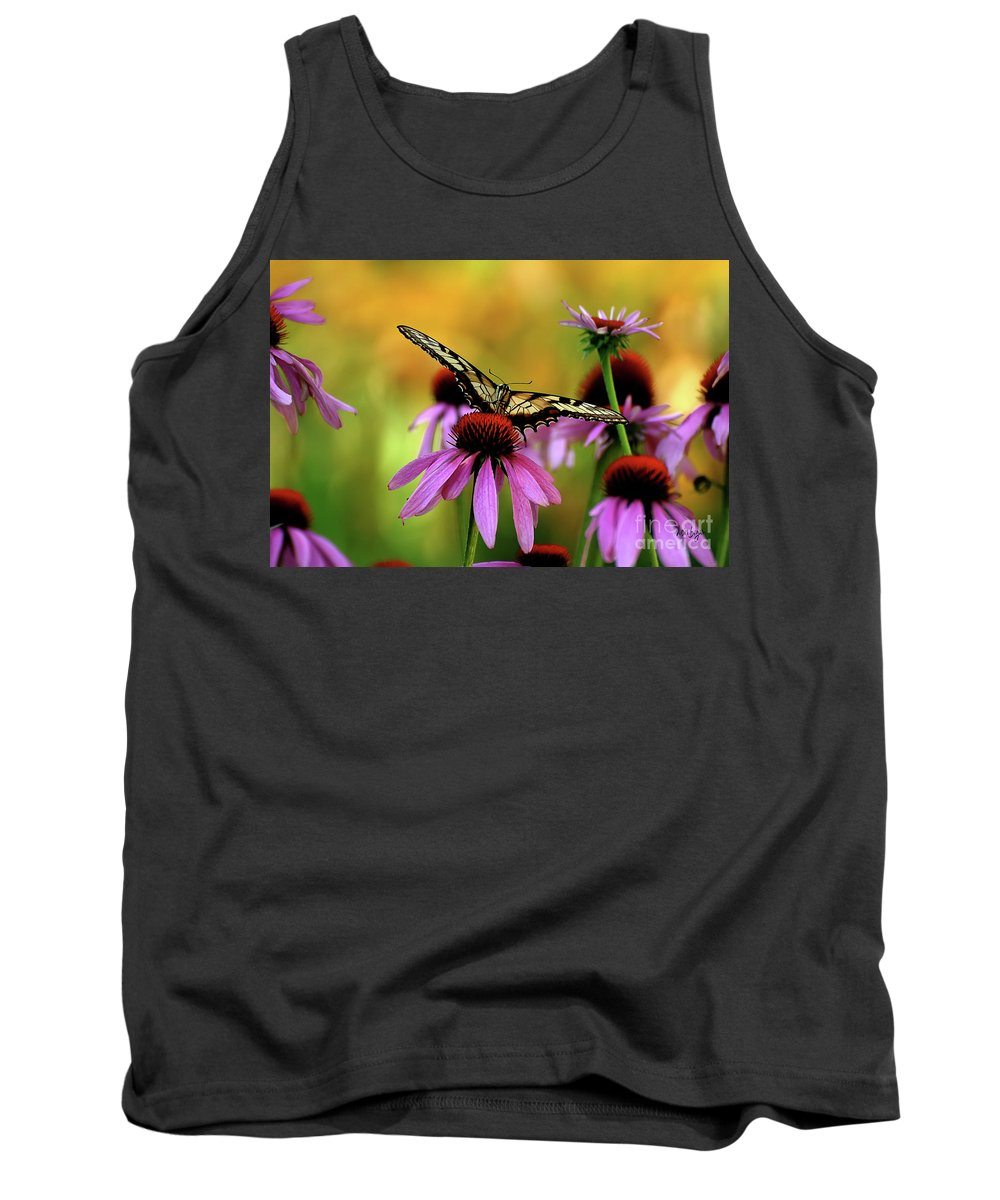 Swallowtail Tank Top featuring the photograph Eye To Eye by Lois Bryan