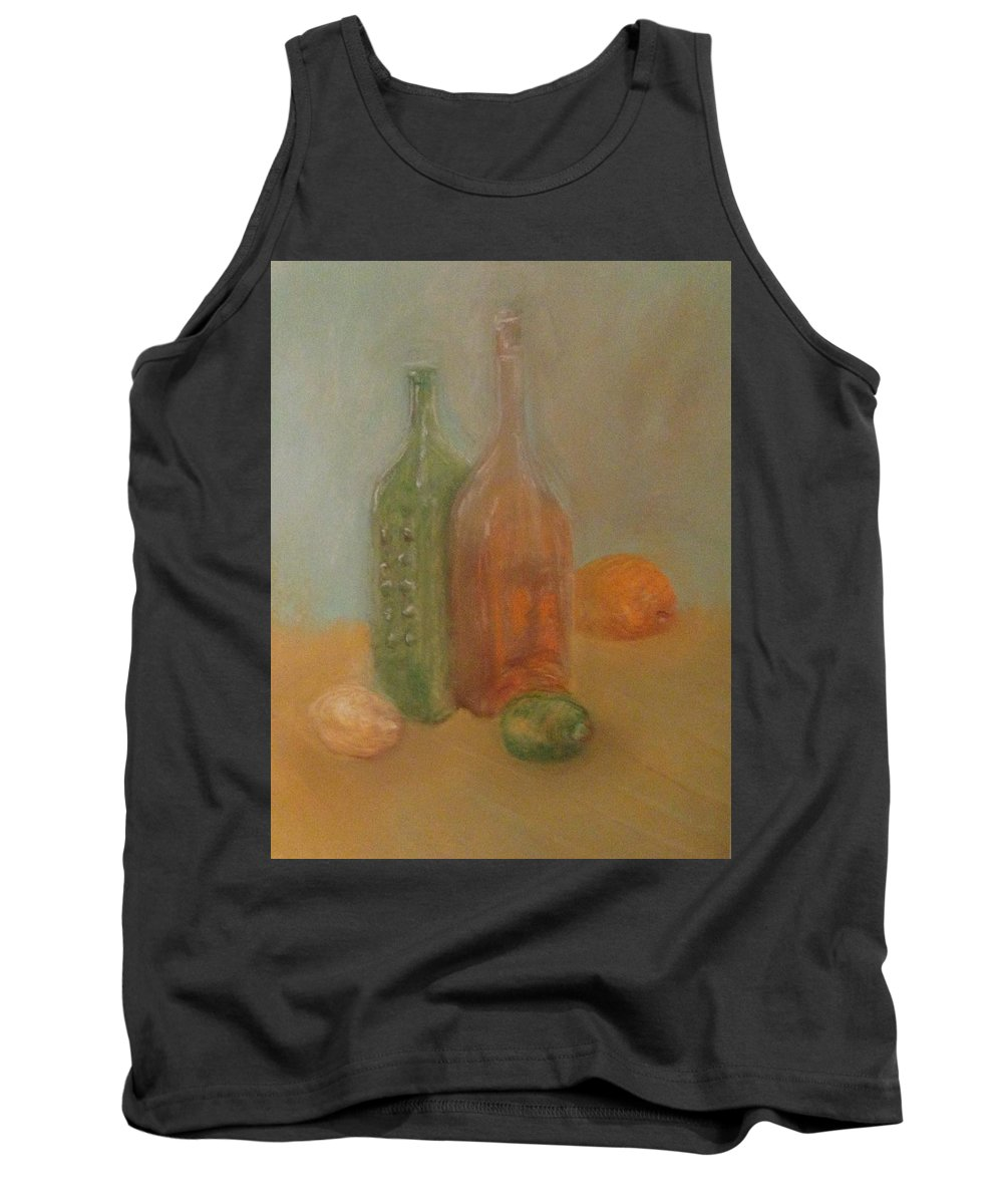 Pastel Tank Top featuring the pastel Faded Still by Michael Martone