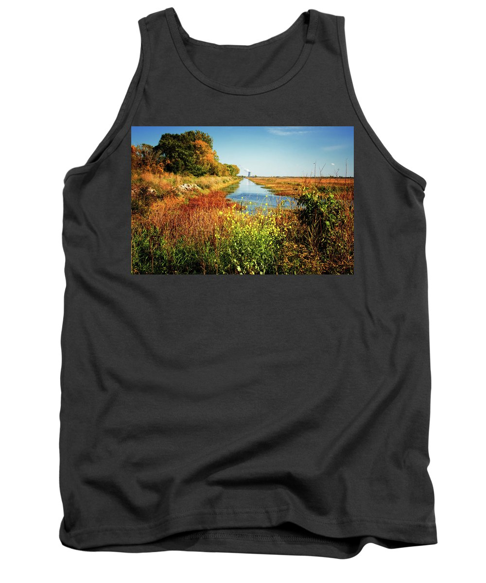 Fall Tank Top featuring the photograph Fall beauty by Gaby Swanson