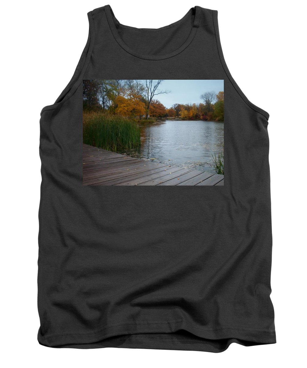 Fall Tank Top featuring the photograph Fall Series 10 by Anita Burgermeister