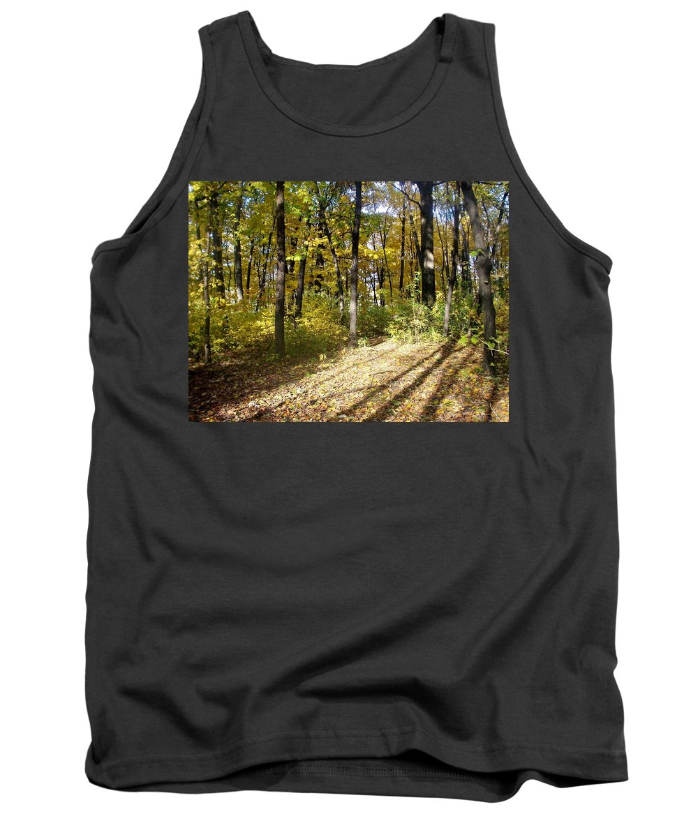 Fall Tank Top featuring the photograph Fall Series 2 by Anita Burgermeister
