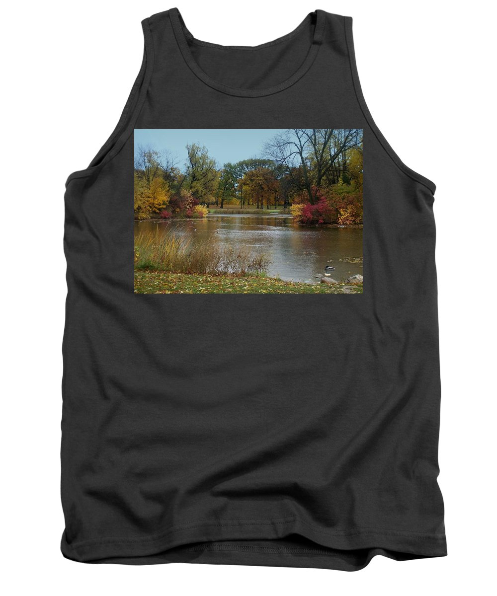 Fall Tank Top featuring the photograph Fall Series 9 by Anita Burgermeister