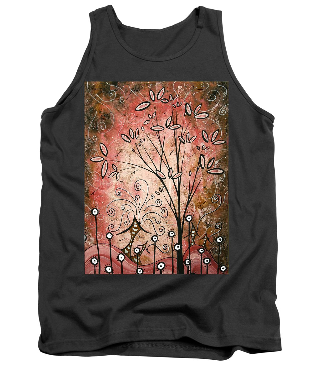Tank Top featuring the painting Far Far Away By Madart by Megan Duncanson