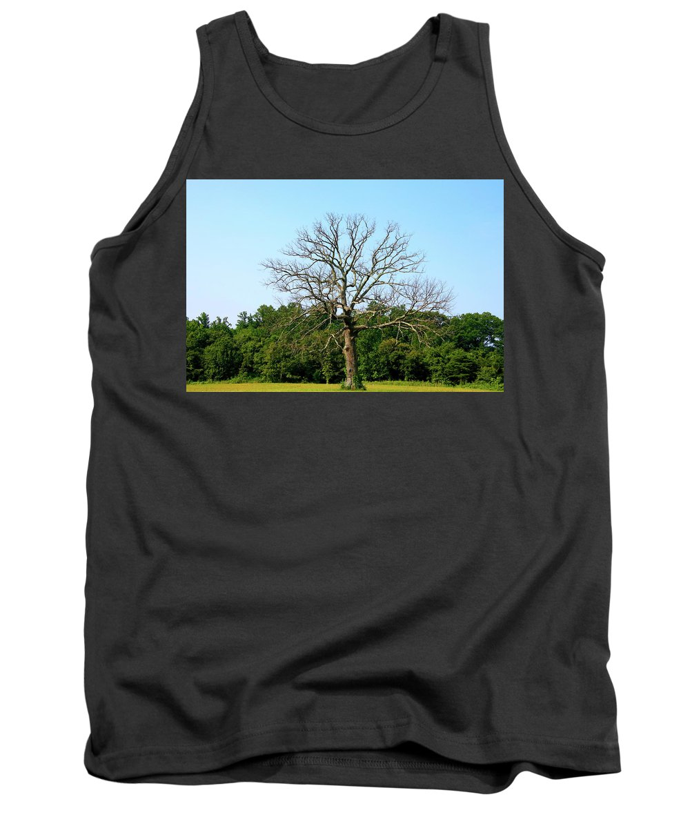 Tank Top featuring the photograph Father Time by Tony Umana